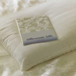 Luxurious Silk Pillows from Silkwood Silk | available as a pair of silk pillows or a single pillow